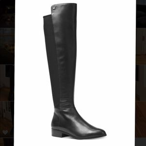 Michael Kors black Nappa leather boots sz 6.5